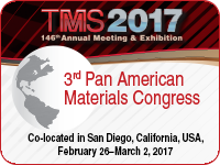 3rd Pan American Materials Congress 2017